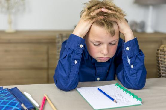 stressful homework